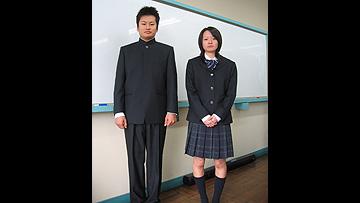 海洋科学高等学校制服画像
